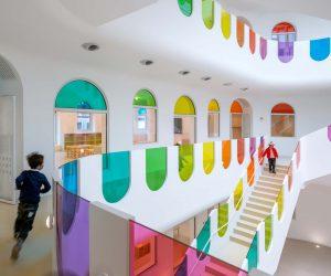 Kaleidoscope, un asilo a colori in Cina