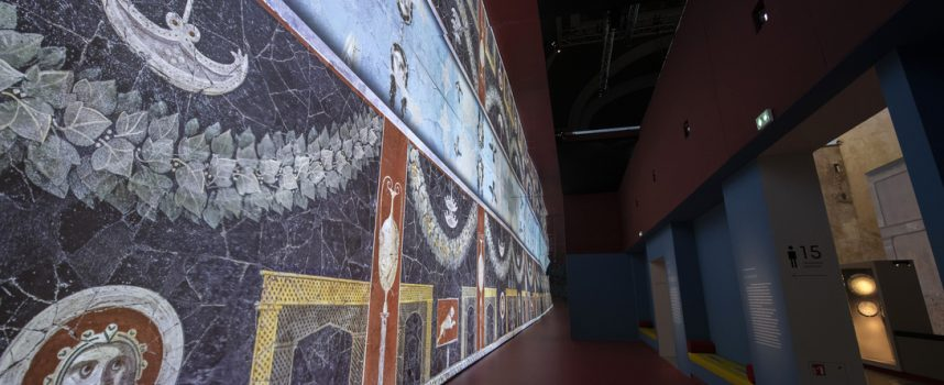 Pompei in una mostra immersiva digitale al Grand Palais di Parigi