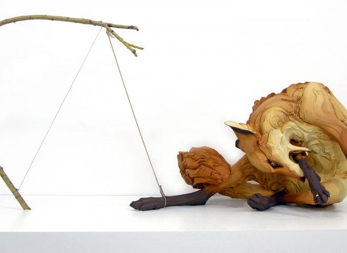 Beth Cavener: le emozioni umane nella scultura