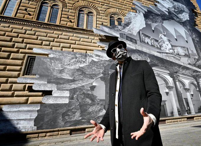 JR a Palazzo Strozzi