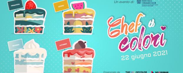 Nuovo evento online 2021: Chef a Colori