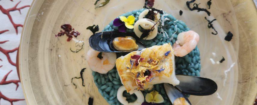 Risotto azzurro! Nuova ricetta da Chef a Colori