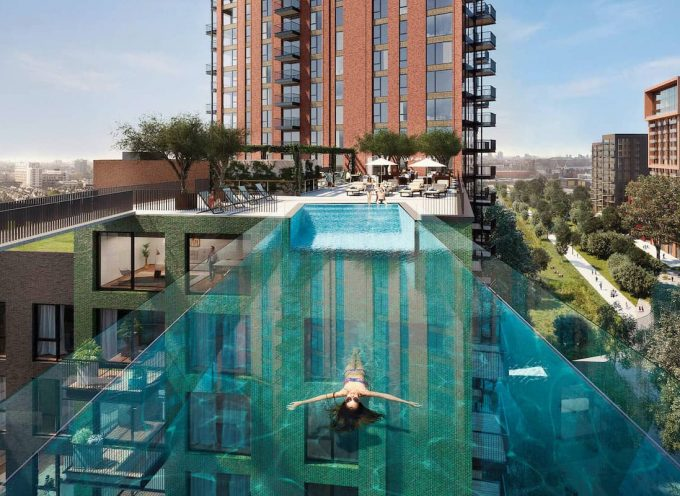 Londra, Sky Pool: la prima piscina sospesa nel vuoto