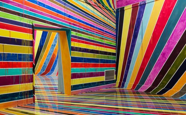 architettura e colori le opere psichedeliche di markus